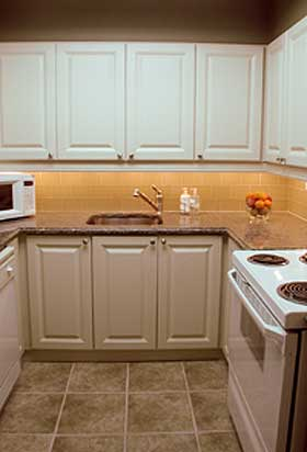 kitchen after redesign