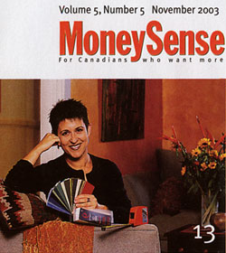 Debra Gould in Money Sense Magazine